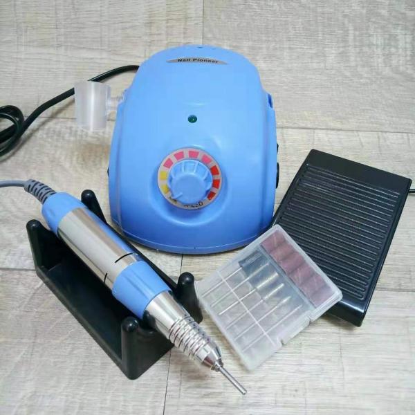Аппарат для маникюра и педикюра DM-996 (голубой), 35 тыс. об/мин