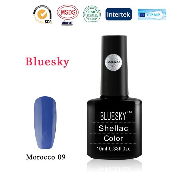 Shellac BLUESKY, № Morocco 09