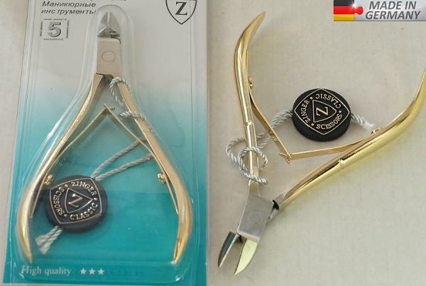 Маникюрные кусачки GERMANY, # 8715SG
