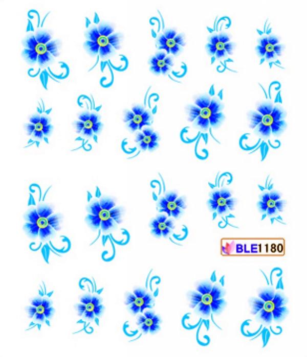 Наклейки цветные, № BLE1180