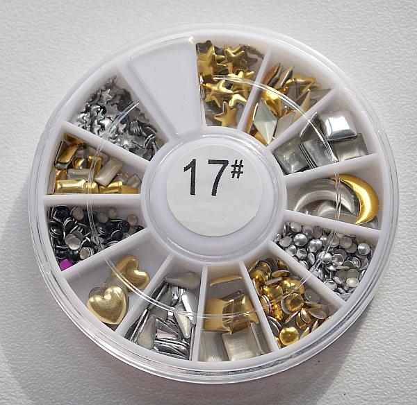 КАРУСЕЛЬ - украшения (золото+серебро, фигурные), #17