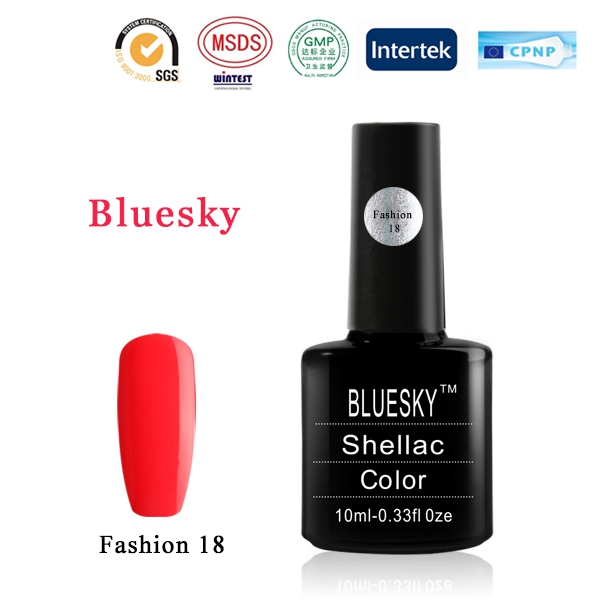 Shellac BLUESKY, № Fashion 18