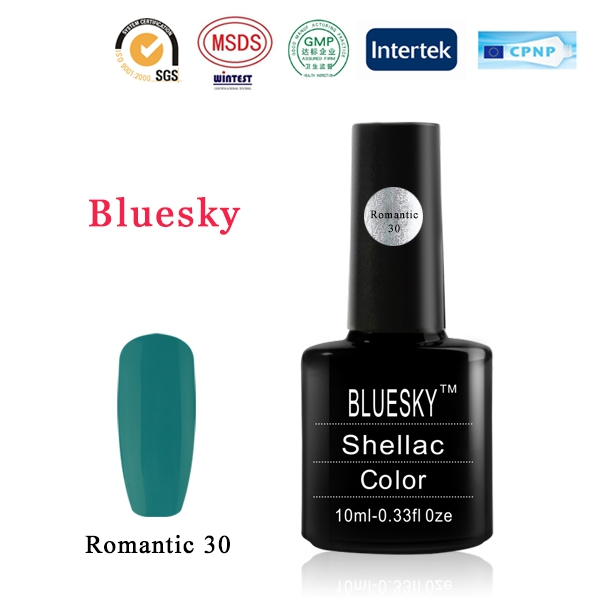 Shellac BLUESKY, № Romantic 30
