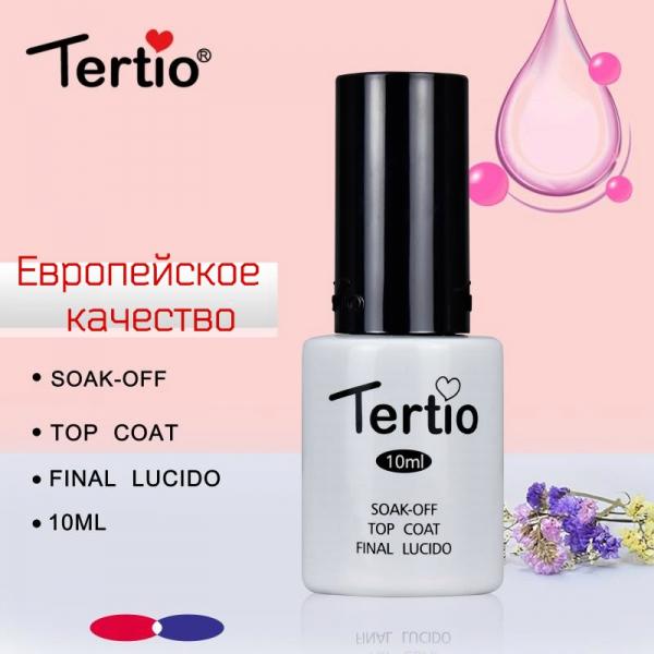 """Топ с липким слоем """"Tertio"""", 10 мл."""