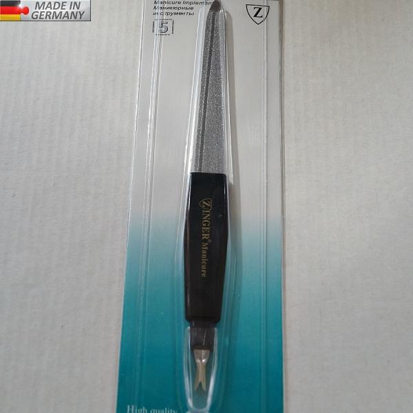 Металлическая пилка (10 см) + триммер GERMANY, # 8106-1