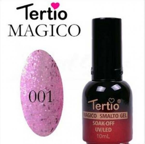 "Гель-лак ""Tertio"" Хамелеон, № 01"