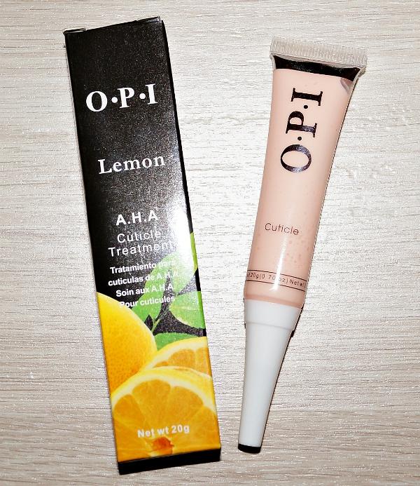 """Гель для удаления кутикулы """"OPI"""" (лимон)"""
