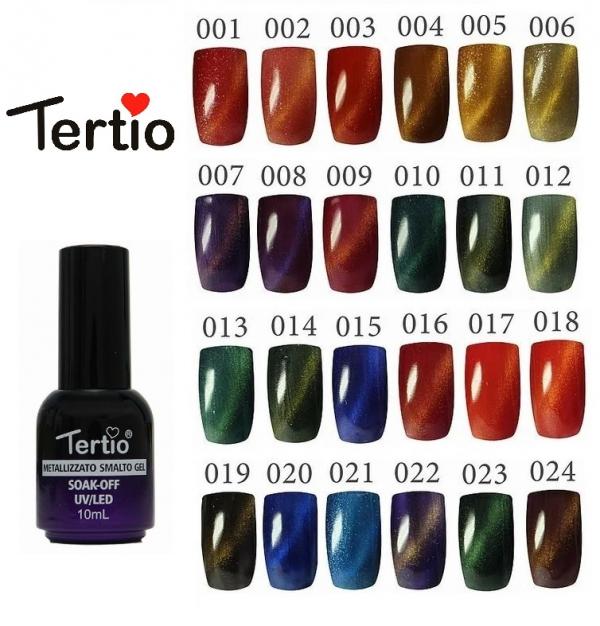 "Гель-лак ""Tertio"" Cat's Eye, № 19"