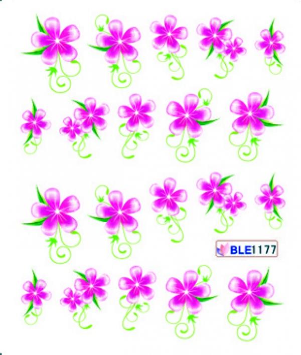 Наклейки цветные, № BLE1177