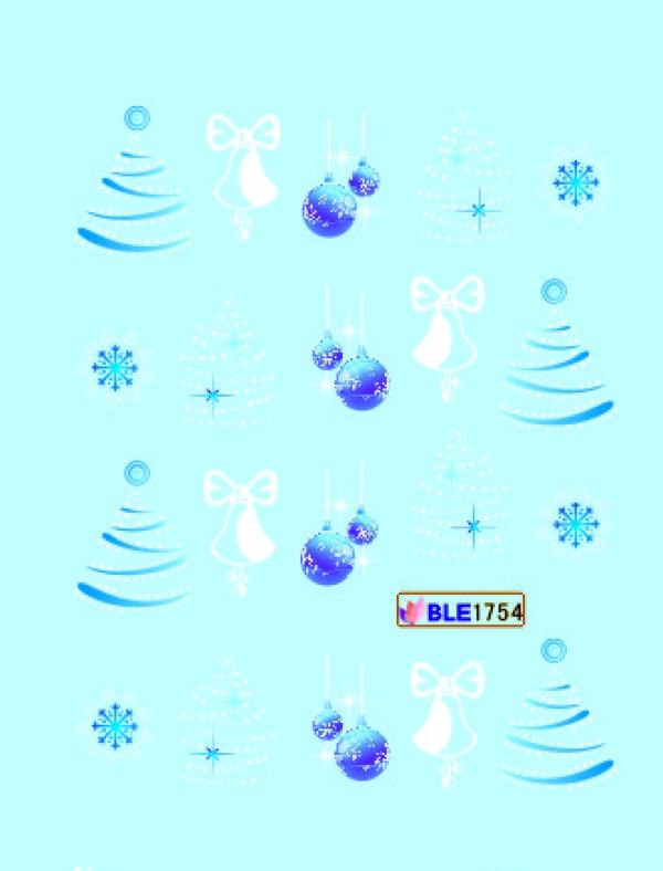 Наклейки цветные, № BLE1754