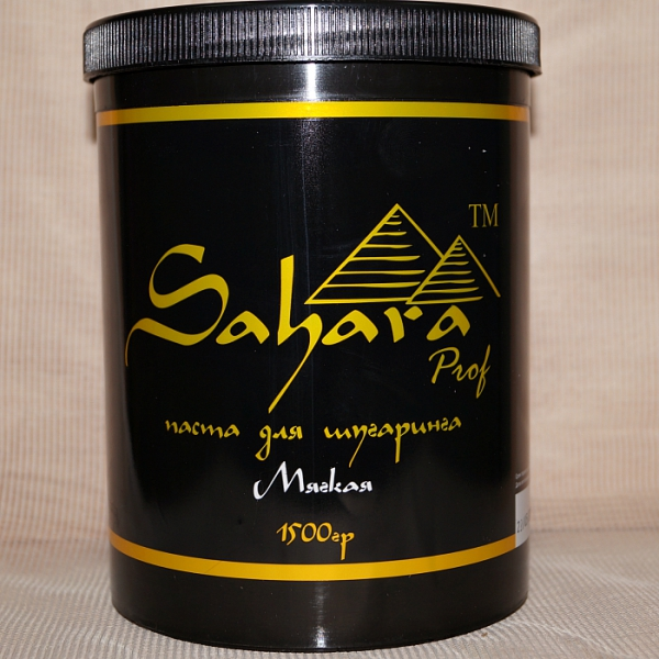 "Паста для шугаринга ""Sahara Prof"" - Мягкая, 1500 гр."