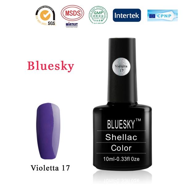 Shellac BLUESKY, № Violetta 17