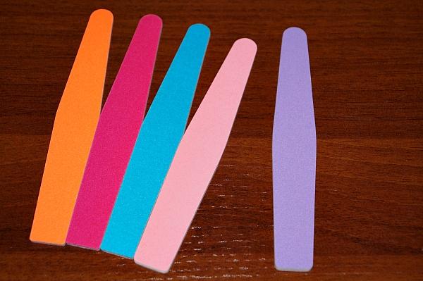 Пилка цветная YOKO (ромб), 240/240 грит