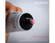 """PUDDING GEL - Полигель """"Bluesky"""" (прозрачный), 60 гр."""