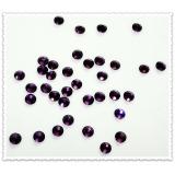 """Камни Сваровски темно-фиолетовые """"SS6"""" - 2,0 мм (в наборе 100 штук)"""