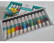"""Акриловые краски """"Winsor & Newton"""", 12 цветов в наборе"""