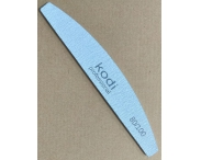 Пилка серая Kodi-Professional (полукруглая), 80/100 грит