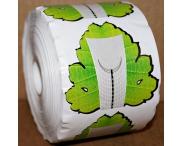 """Формы """"Зеленый лист"""" широкие, 500 шт."""