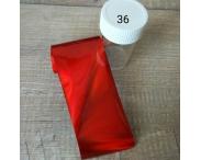 Переводная фольга 4*120 см (в баночке), #36
