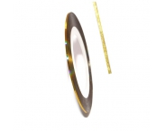 Нить для дизайна ногтей на клейкой основе (золотая)