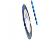 Нить для дизайна ногтей на клейкой основе (синяя)
