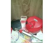 Аппарат для маникюра и педикюра DM-999 (красный), 35 тыс. об/мин