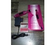Машинка-ручка для маникюра (розовая), 20 тыс. об/мин