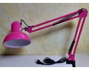 Маникюрная настольная лампа (розовая)