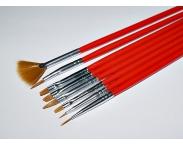 Набор кистей для китайской росписи NB30, 8 шт.