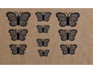 "Фотодизайн для ногтей ""Бабочки"", s015"