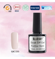 Bluesky Rubber Base COVER PINK (каучуковая база + камуфляж), № QBC 35