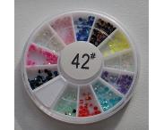 КАРУСЕЛЬ - цветной жемчуг, #42
