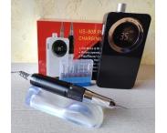 Машинка для маникюра и педикюра US-808 (черная), 35 тыс. об/мин